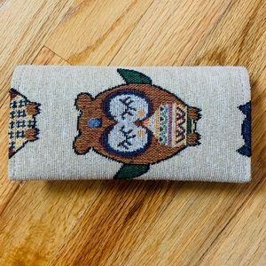 Handbags - Brocade Wallet